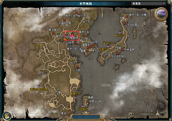 副本位置:东北亚